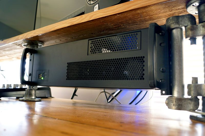How To Build A Rackmount Pc For Video Editing Music Production Home Studio Setup Home Recording Studio Setup Custom Homes