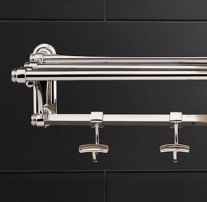Lugarno Restoration Hardware Bathroom Bathroom Rack