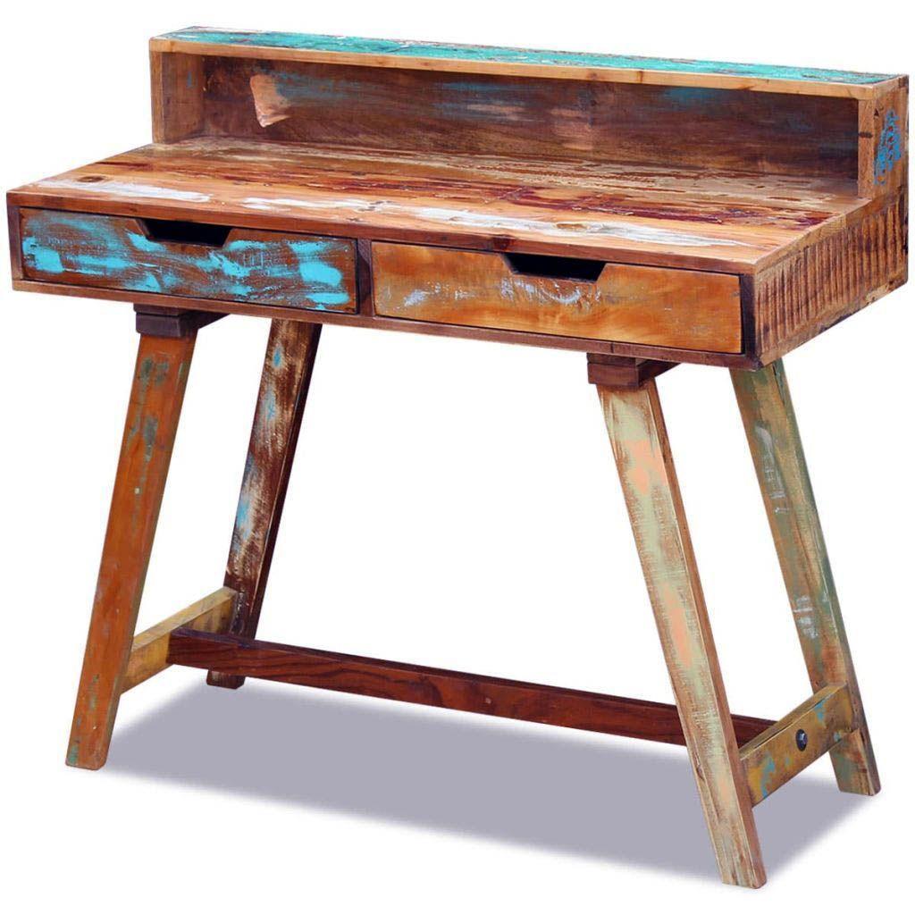 20 Diy Desks That Really Work For Your Home Office Solid Wood Desk Best Desk Vintage Desk