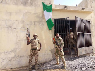 Soldiers clear more Boko Haram camps, rescue 520 hostages