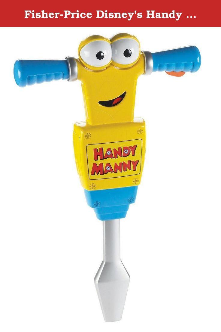 fisher price disney u0027s handy manny jack hammer now boys can break
