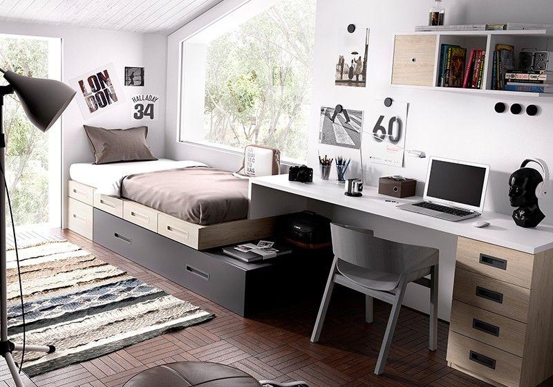 Dormitorio juvenil dormitorios pinterest dormitorios for Decoracion dormitorios juveniles masculinos