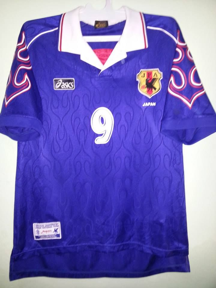 ebeeb496519 Japan football shirt 1998
