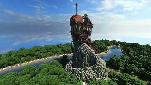 マインクラフトの絶対に見ておくべきすごい建築物 建造物 24選 はや