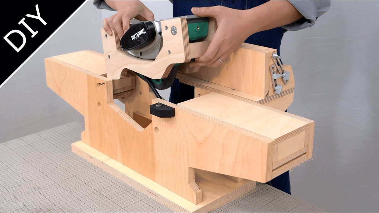 Photo of Amazing Benchtop Jointer – How to Make a Jointer – Rig System Part.3