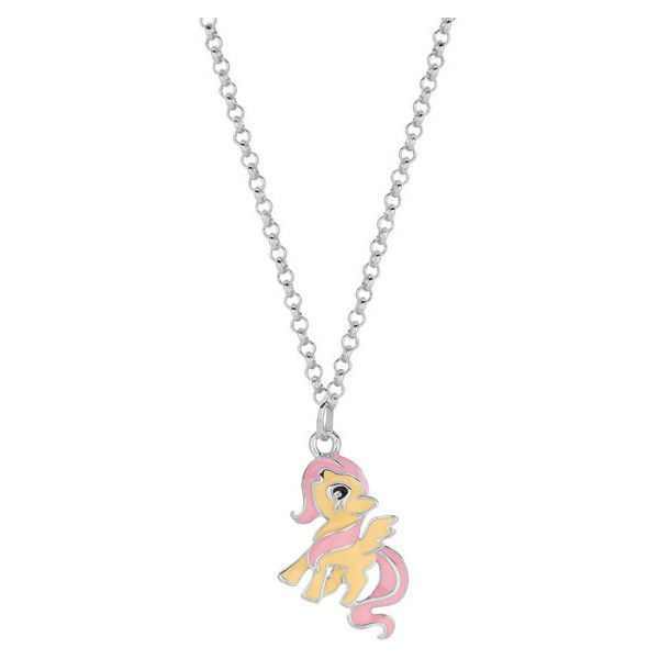 Fine silverplated fluttershy my little pony pendant necklace 15 fine silverplated fluttershy my little pony pendant necklace 15 liked on polyvore featuring mozeypictures Gallery