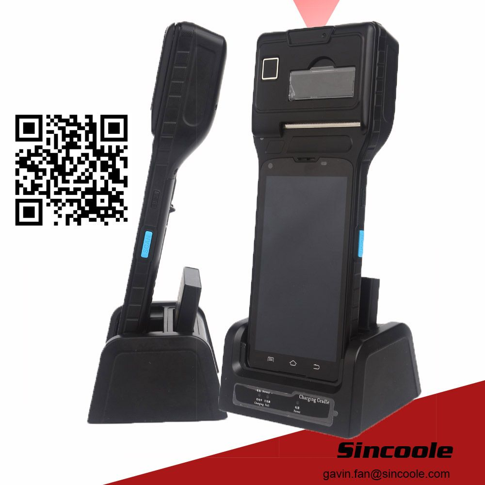 2G RAM+16G ROM Android Industrial Printer Handheld