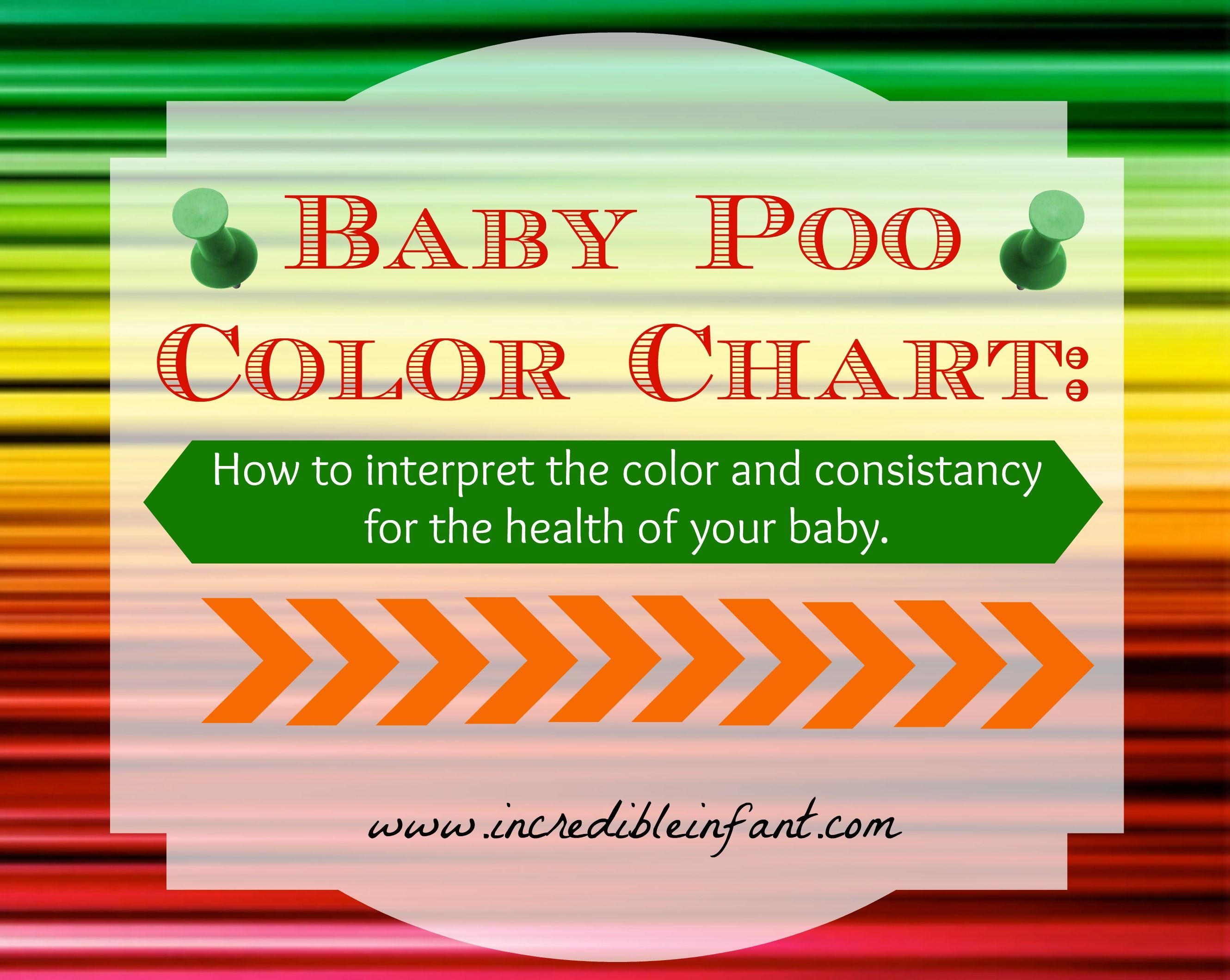 Toddler poo colour chart - An Important Gag Free Baby Poop Color Chart Baby Blog