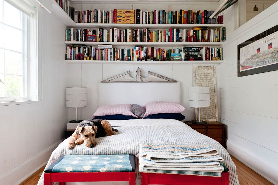 Awesome Want To Do A High Perimeter Bookshelf Around The Entire Room, With Wrought  Iron Supports To Give It That New Orleans Jazz Look.