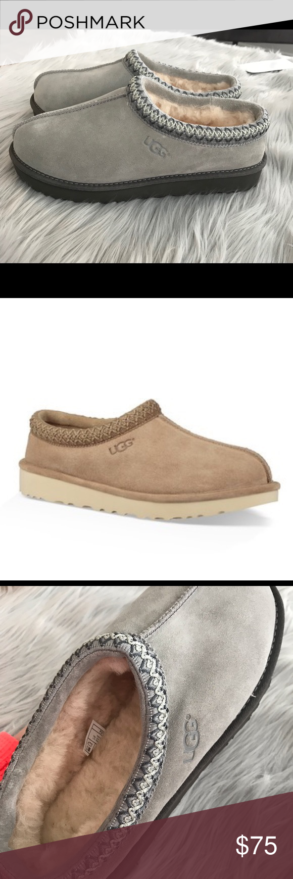 a1505e8064 Ugg Tasman Pinnacle Genuine Sheepskin Line Slipper NEW UGG SLIPPERS WITHOUT  TAG. Sizing  True to size. Whole sizes only  for 1 2 sizes