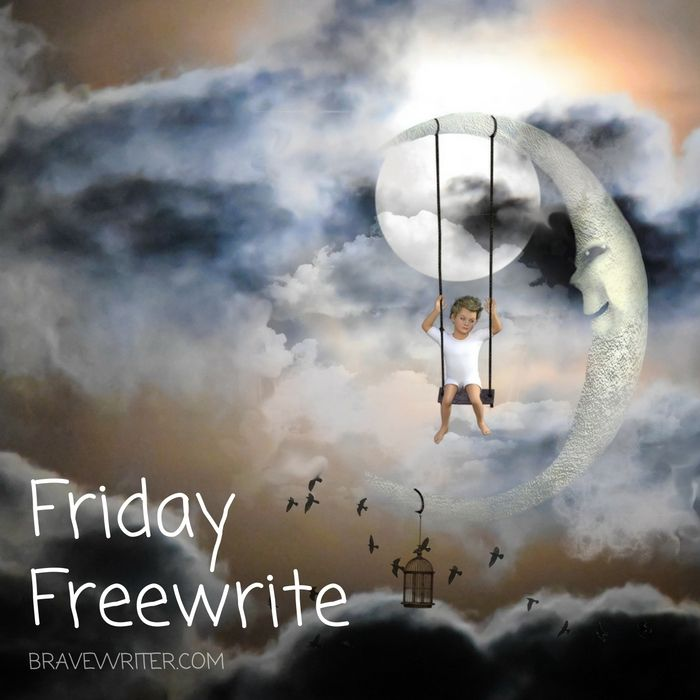 Friday Freewrite: Conversation with the Moon (With images ...