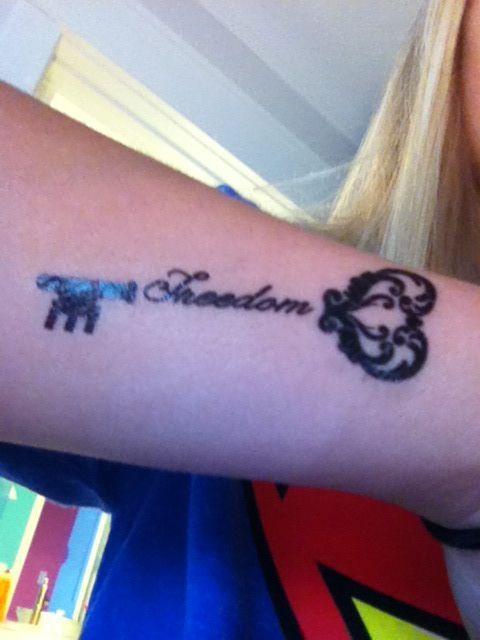 Key To Freedom Key Tattoos Tattoo Quotes Tattoos
