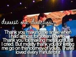Dearest One Direction....