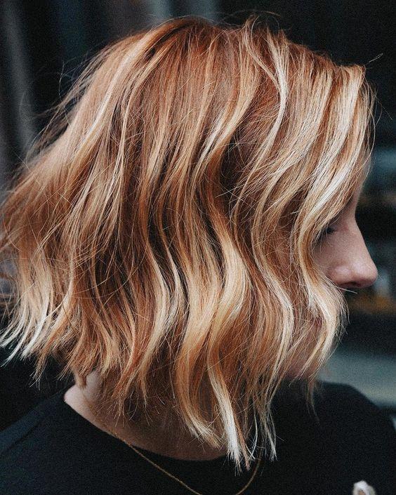 81 Kurze rote Haare mit Highlights Ideen – Hanna