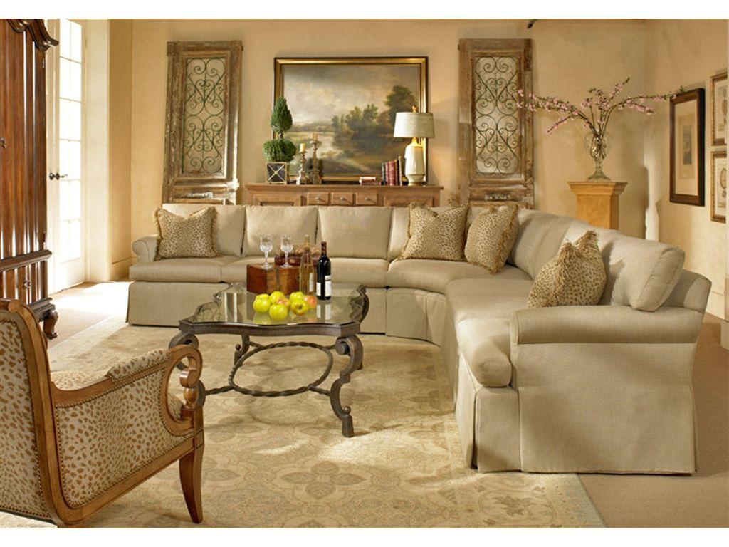 Century Furniture Century Furniture Living Room 10 Sectional