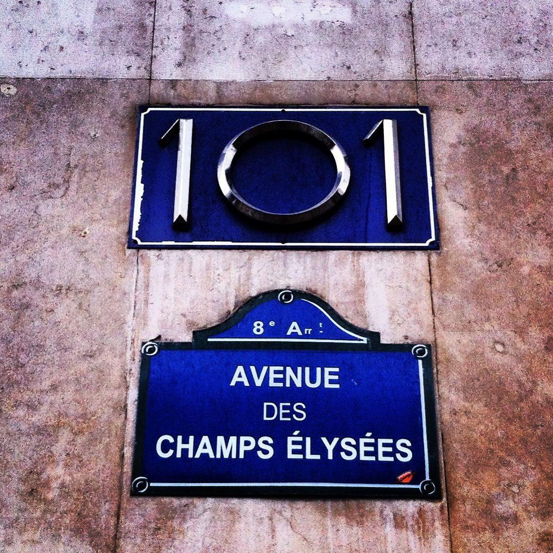 Avenue des Champs Elysees, Paris, France