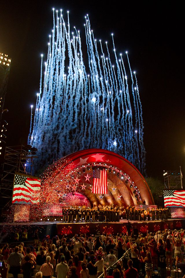 The 4th Of July In Boston Ma With Images Boston Pops In