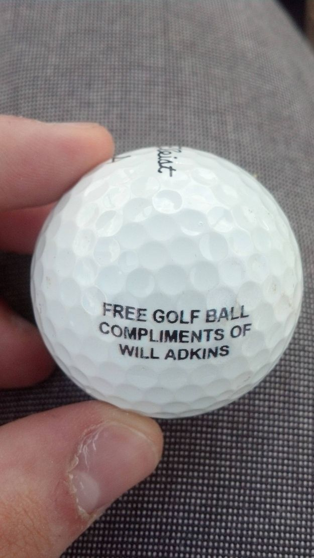 Losing so many balls that this seems like a better solution: | 23 Problems Every Golfer Will Understand