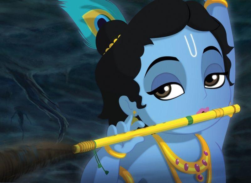 Hey Krishna Cartoon Cartoons Krishna Lord Krishna Baby Krishna