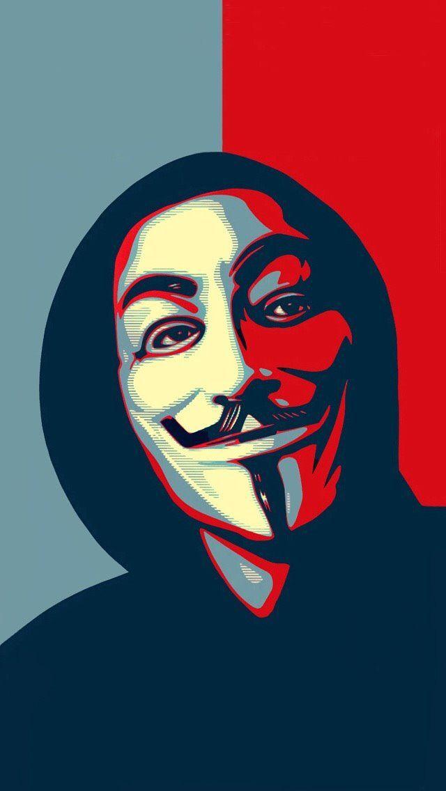 V For Vendetta Mask Stencil Pin by Asher Khan on J...