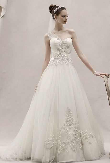 Win a Oleg Cassini Wedding Dress by David\'s Bridal as part of the ...