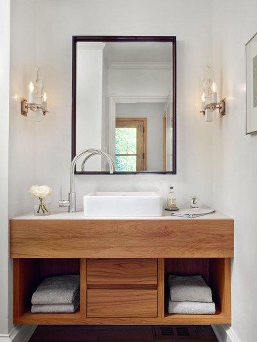 Impressive 30 Cozy Bathroom Makeover Ideas Modern Bathroom Vanity Home Depot Bathroom Vanity Home Depot Bathroom