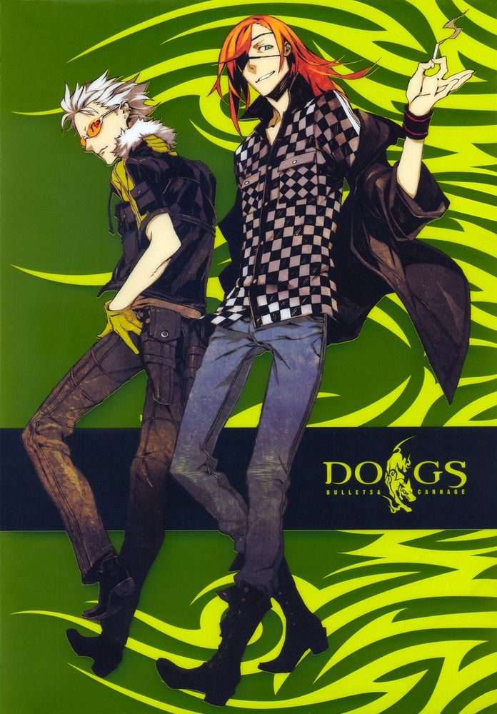 Dogs bullets and carnages by Shirow Miwa Рисунки, Дизайн