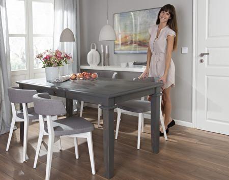 Foto: Esstisch mit Lacklasur neu gestaltet) | Esstisch