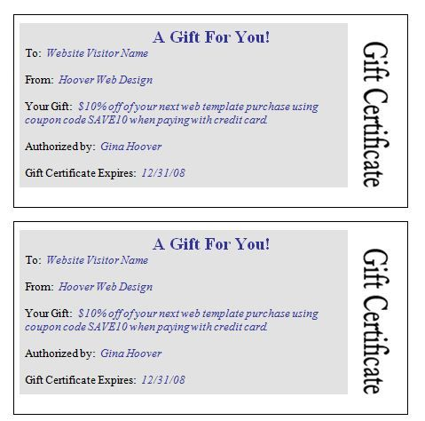 Gift Certificate Template Word Points To Note Of Choosing Best - Massage gift certificate templates