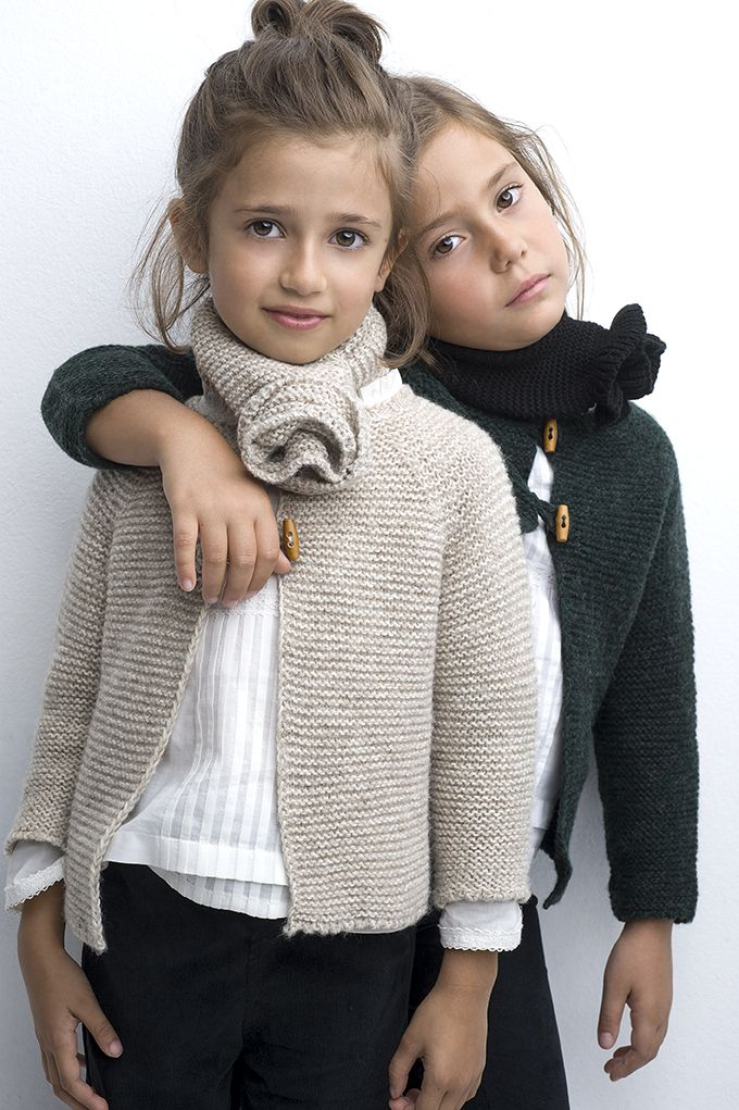 Photo of Strikket enkel cardigan. #www.sainteclaire.es