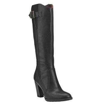 Timberland - Bottes Stratham Heights Tall Waterproof Femme - Noir