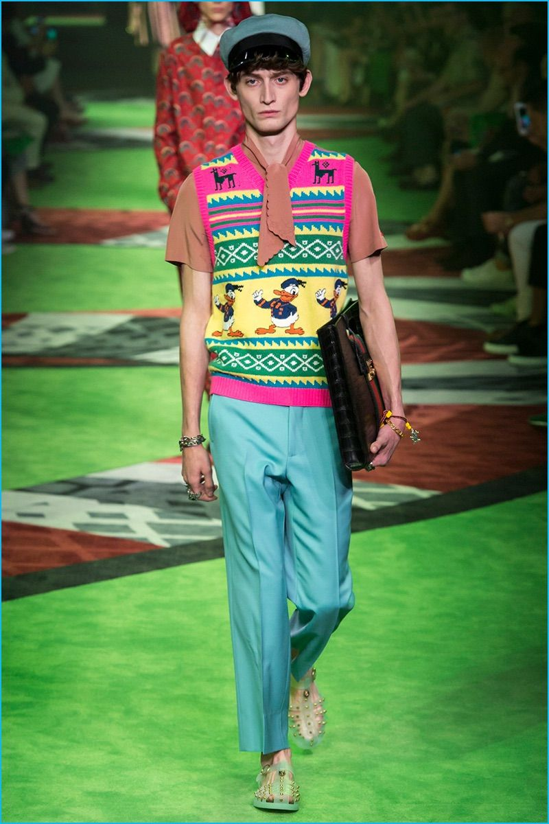 Gucci 2017 Spring/Summer Men's Runway Collection | Gucci