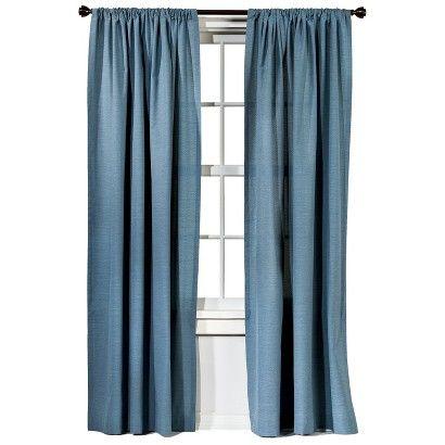 Farrah Curtain Panel Cream 54 X84 Threshold With Images Panel Curtains Curtains Target Curtains