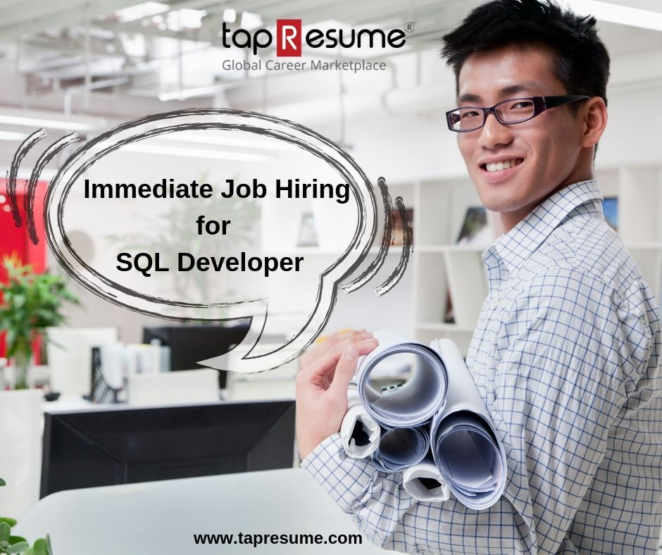 Find out the hottest sql job of 2018 sign up