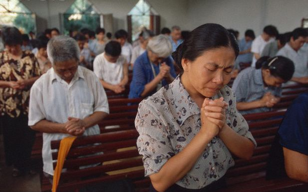 China will soon have the largest Christian population in the world, according to a government-sponsored survey. David Aikman (author of Jesus in Beijing: How Christianity is Transforming China and Changing the Global Balance of Power, 2003) predicted that over the next three decades, China's Christian population will grow to about 400 million, or one-third of China's population.