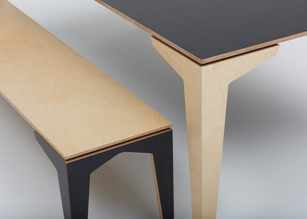 tim webber design new zealand furniture floating bench seat with table