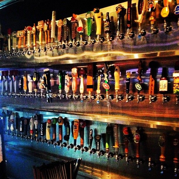 Awesome shot of the Tap Wall at our NineMileRoad Location