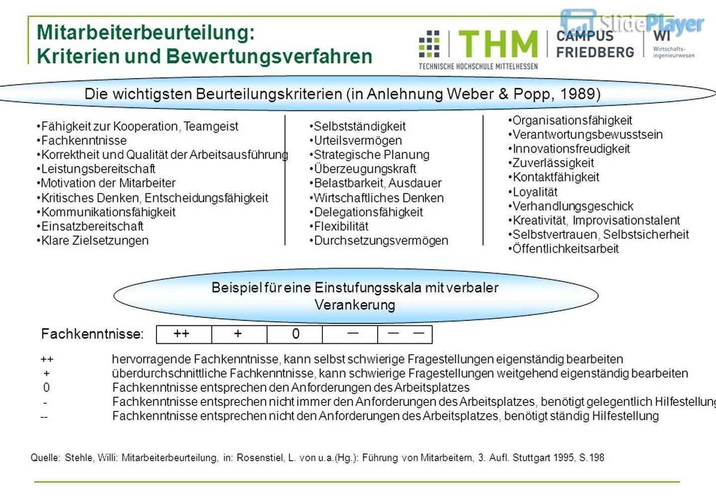 Abwehrmechanismen Freud Beispiele mitarbeiterbeurteilung: kriterien und bewertungsverfahren