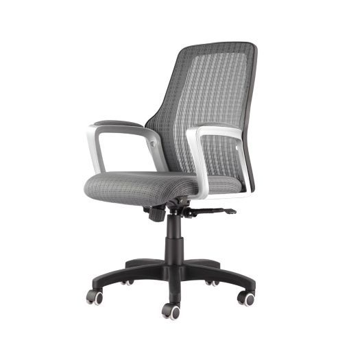 Desk Chair Tesco Standing Yoga Poses For Seniors Buy Eliza Tinsley All Grey Avon Mesh Back Operator From Our Office Chairs Range Com