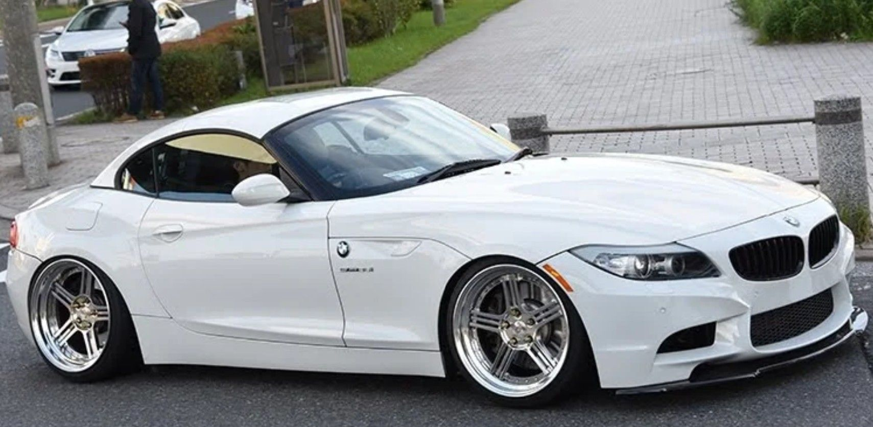 Bmw Z4 E89 Modified Tuning Lowered Wheels Front Lip