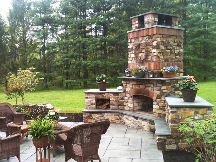 Outdoor Fireplace Ideas | Let'S Go Outside | Pinterest | Outdoor