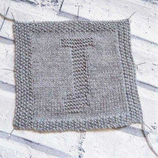 J Square Patternfree Knitting Pattern Afgan Squares Baby Blanket