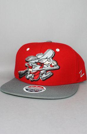 123SNAPBACKS UNLV Rebels Snapback Hat (Logo) (Red Grey) New Era Fitted 99371484457