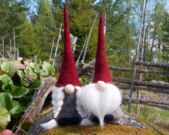 swedish gnome tomte girl gnome jultomte nisse swedish wichtel pinterest weihnachten. Black Bedroom Furniture Sets. Home Design Ideas