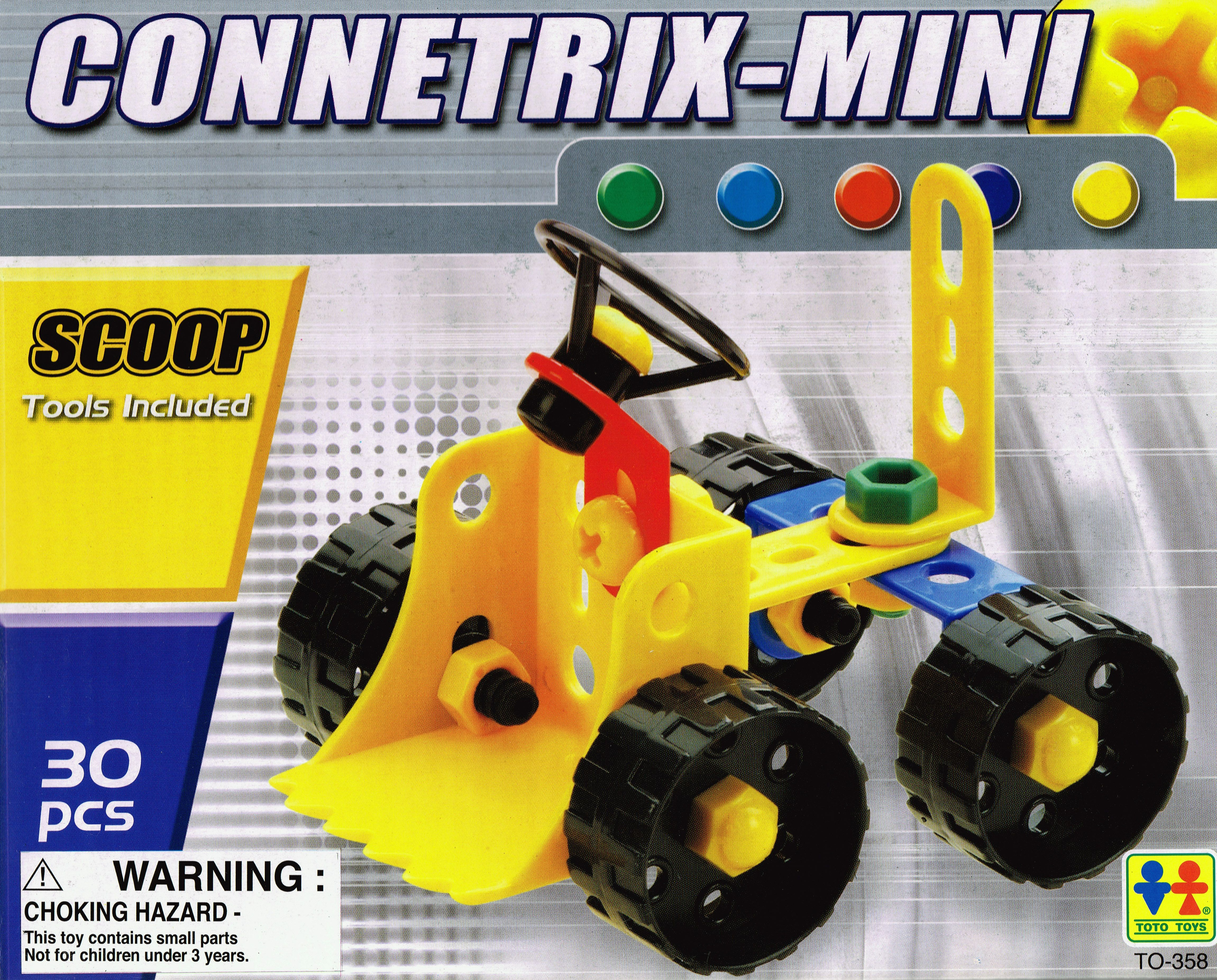 Connetrix Kids Construction Toys Mini Scoop Green Ant Toys line
