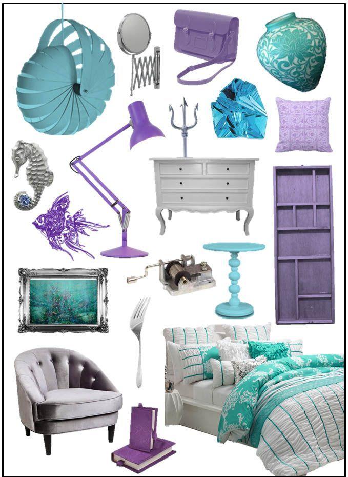 Inspirational Ideas The Little Mermaid Mermaid Room Decor Little Mermaid Bedroom Kid Room Decor