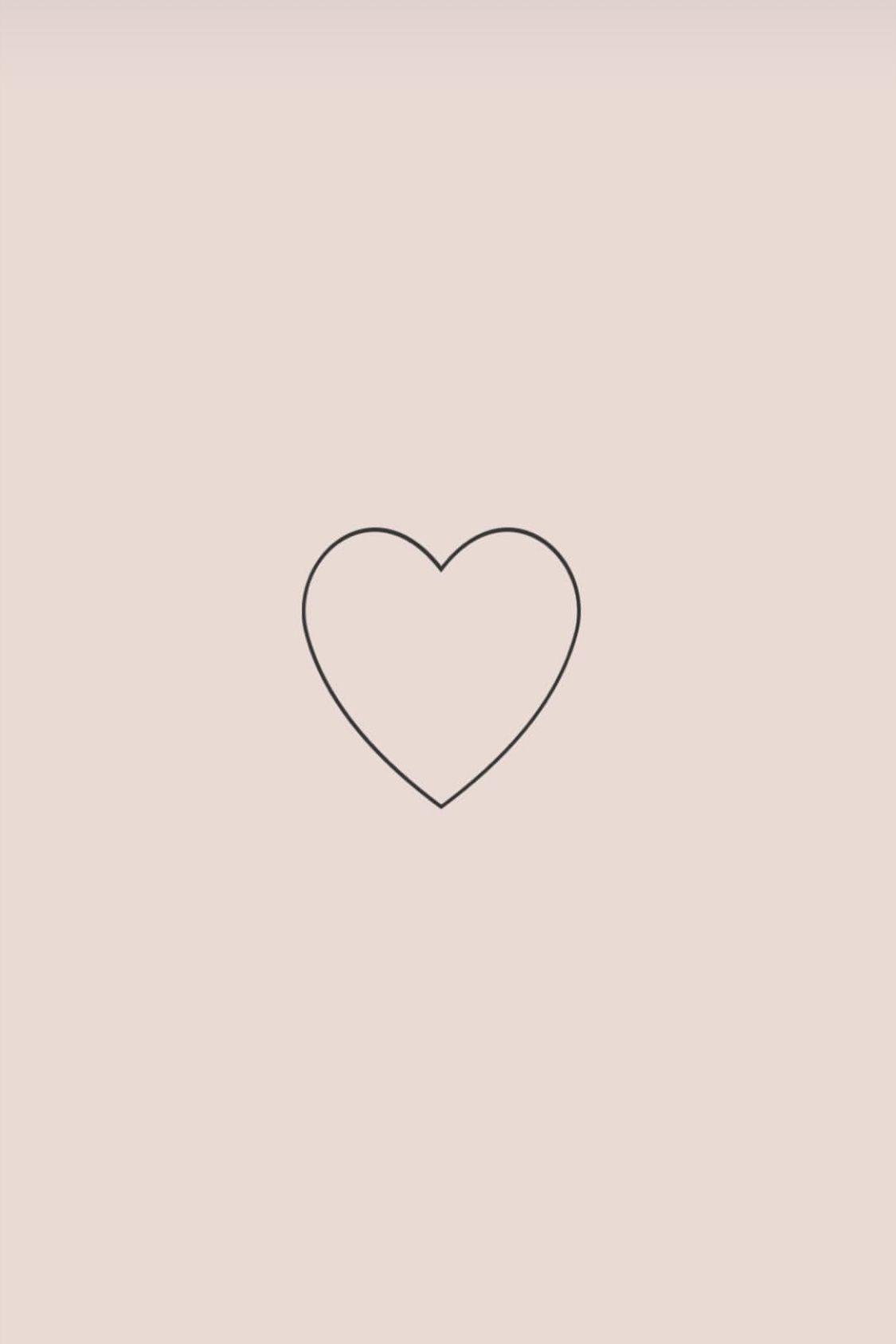 картинки с сердечком минимализм тибета