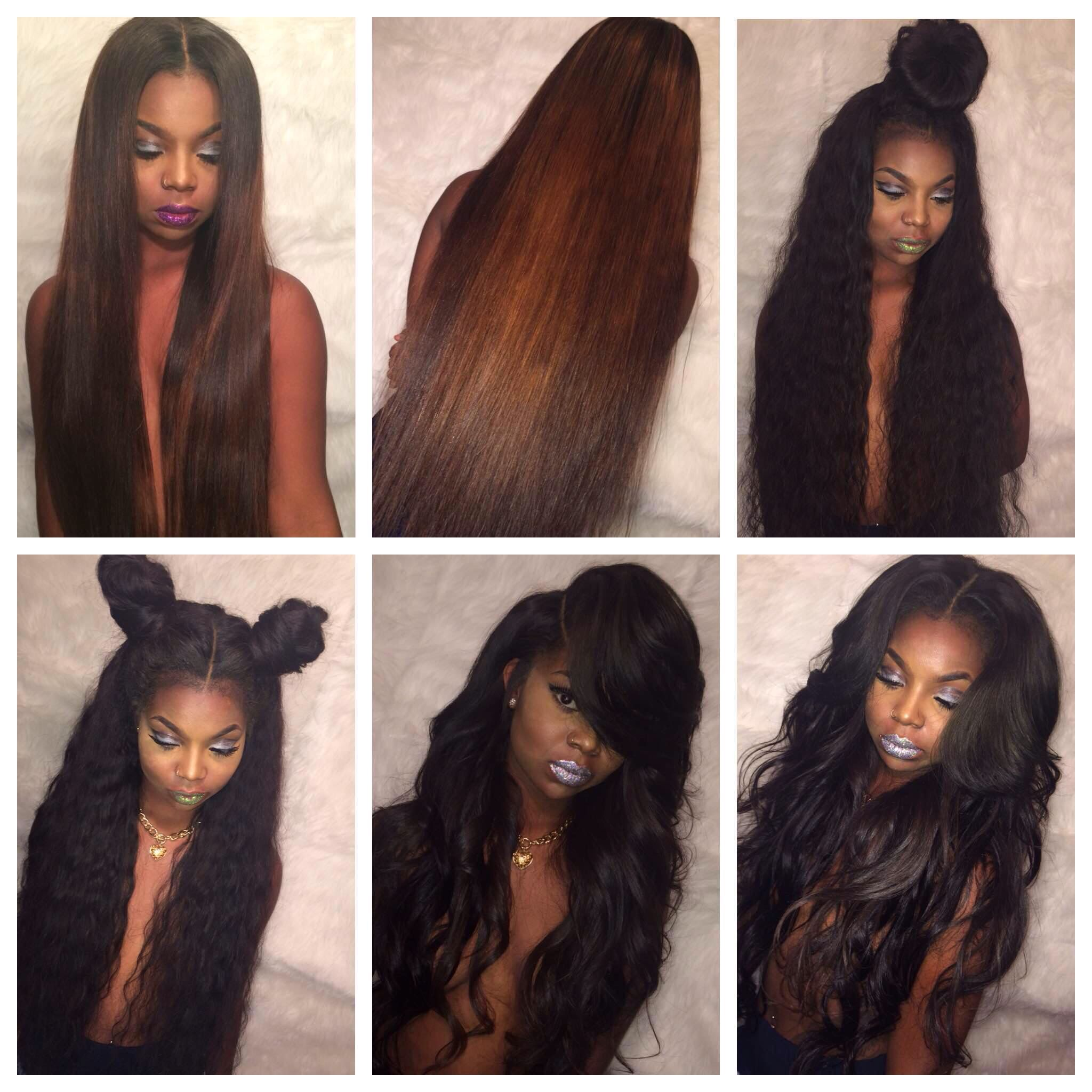 side part sew in | hair | pinterest | hair style, hair weaves and