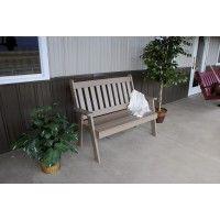 Schaukel Auf Englisch 4 traditional poly bench outdoor benches