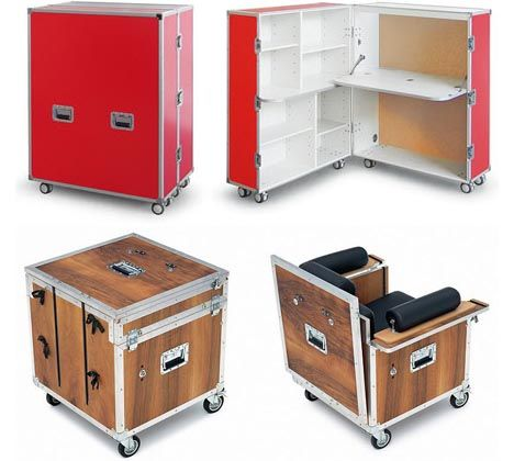 Mobile Modular Rolling Office Modular Office Furniture Office